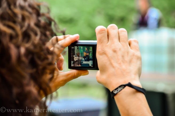 Kameratester Kamera Tester Konzert